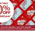 Target Gift Cards – 10% off – Today only