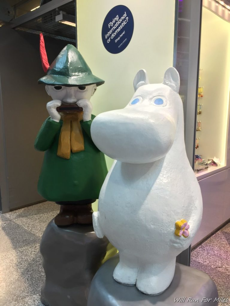moomins in finland