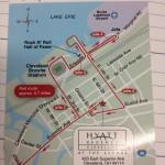Cuckoo For Jogging Maps: Hyatt Regency Cleveland at the Arcade