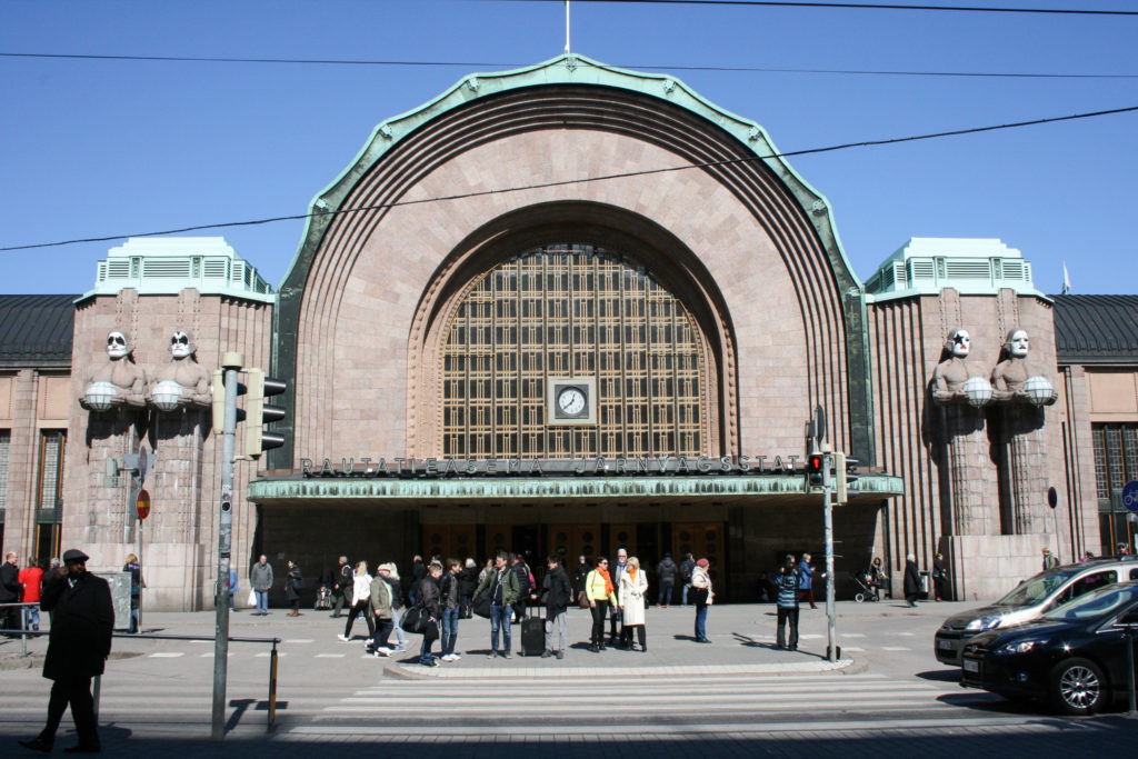 KISS Helsinki Railway Station front