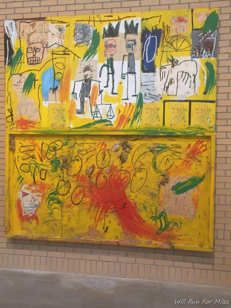 Basquiat Exhibit in NYC